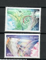 S33973 Island Iceland MNH 1991 Europa Space Exploration 2v