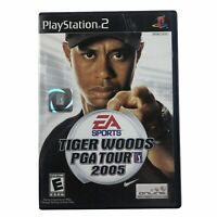 Tiger Woods PGA Tour 2005 (Sony PlayStation 2, 2004) Complete w/Manual CIB