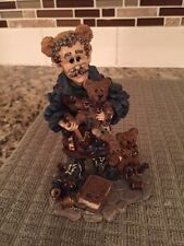 Boyds Bears Wee Folkstone Collection, T.H. Bean, The Bearmaker Elf No Box
