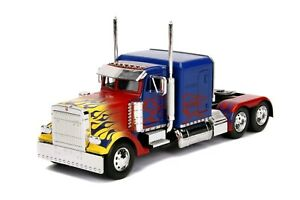 Diecast Figures--Transformers - Optimus Prime T1 1:24 Hollywood Ride