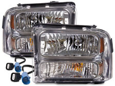 Conversion Headlight Set Fits 1999-2004 Ford Superduty Excursion