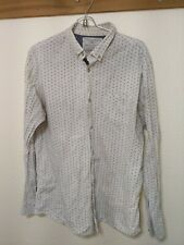 Brunswick Garments Classic Fit Floral Button Up Long Sleeve Shirt Men's Sz L