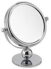 7x Ampliación De Pie cromado baño o dormitorio espejo (73918chr)