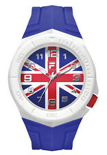 FILA CASUAL 38-072-011 Uhr Armbanduhr Sport Uhren Fußball Großbritannien Fahne