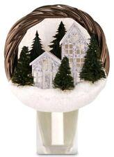 Bath & Body Works Holiday Scenic Wreath Nightlight Wallflower Holder Diffuser