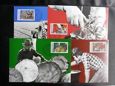 TIMBRES DU LIECHTENSTEIN : 1982 CARTE MAXIMUM SUR LE THEME AGRICULTURE - TBE