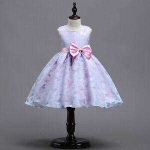 Summer Child Floral Sleeveless Party Dresses For flower Girls Kids Clothing