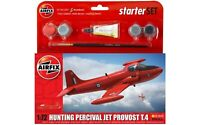 Airfix RAF Hunting Percival Jet Provost T.4 Model Small Starter Set 1:72 Humbrol