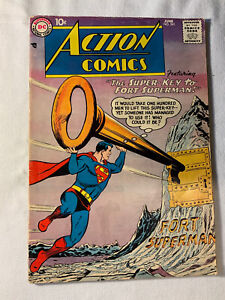Action Comics # 241 1st Fortress of Solitude 1958.