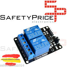 3x MODULO RELE 2 CANALES 5V 10A  ARDUINO ARM PIC AVR DSP RELAY RASPBERRY PI