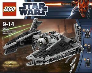 LEGO STAR WARS 9500 NEUF. SITH FURY CLASS INTERCEPTOR. BOITE JAMAIS OUVERTE.