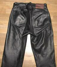 """"""" Hokuspokus """" Leather Jeans/Leather Pants IN Black IN Approx. W28 """" / L30 """""""