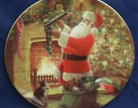 Royal Doulton THE STROKE OF MIDNIGHT Christmas collectors plate