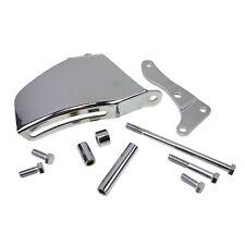 Sbc Small Block Chevy 350 400 Alternator Bracket 69 75 Long Water Pump Chrome