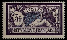 MERSON 3f violet, Neuf * = Cote 30 € / Lot Timbre France n°206