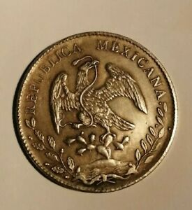 8 Reales Münze Mexiko 1889