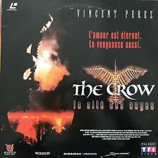 LASERDISC - THE CROW LA CITE DES ANGES VF WS PAL VINCENT PEREZ