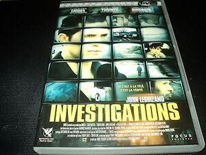 "DVD ""INVESTIGATIONS"" John LEGUIZAMO"