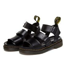 NEW Neutral Ankle Strap Buckle Roman Flat Gladiator Sandals Chunky Cleated Shoes