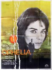 Affiche 120x160cm OPHÉLIA (1963) Claude Chabrol - Alida Valli, Claude Cerval TBE