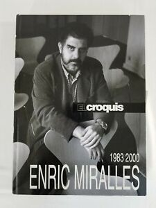 Enric Miralles, 1983-2000 El Croquis Final Edition Hardcover (English/Spanish)