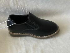 Cat & Jack Toddler Boys Shoes Size 8 Neal Loafers Black