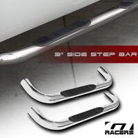 "For 1999-2018 Silverado/Sierra Regular Cab 3"" Chrome Side Step Nerf Bars Boards"