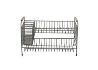 Tilmo Industrial Dish Rack by Nkuku