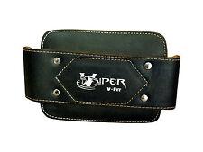 Trempage ceinture avec heavy duty acier chaîne haltérophilie fitness cuir sans logo