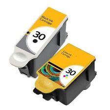 2 INK CARTRIDGES FOR KODAK 30 XL ESP C315 C310 C110 C115 1.2 3.2 Hero 3.1 5.1