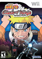 Naruto: Clash of Ninja Revolution  (Wii, 2007)