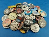 Vintage MUSIC BADGES - Rock Pop Punk Metal etc - Choose Your Badge!