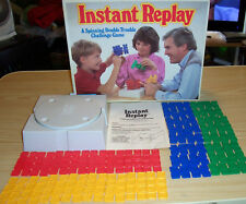 Instant Replay by Parker Brother's in box Complete with Instructions Vintage