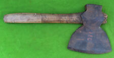 """Vintage Broad Axe Hatchet Marked T Mace No 6 With An Elephant Image 6 1/2"""" By 7"""""""
