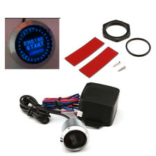 Car Engine Start LED Keyless Entry Push Button Switch Lgnition Starter Systems