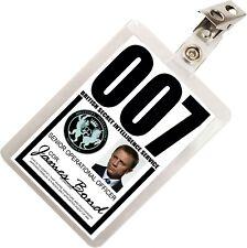James Bond 007 MI6 SIS ID Badge Name Tag Card Prop for Costume & Cosplay JB-2