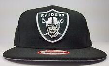 Los Angeles Oakland Raiders New Era 9Fifty Black Tone Basic MVP Snapback Hat Cap