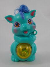 "Hasbro Dragon Necklace Plastic Charm w/ Pop Dice 2.25"" 1995"