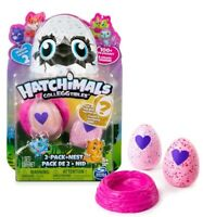 Season 2 Hatchimals Colleggtibles Egg 2 Pack + Nest - Find the Golden Hatchimal