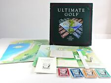 ULTIMATE GOLF The Ultimate Game 1985 COMPLETE vintage board game club course toy