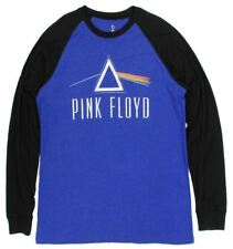 PINK FLOYD Men's 2XL Blue Long Sleeve T-Shirt Classic Rock Music Band