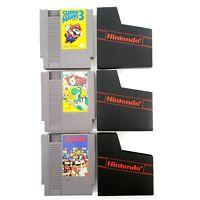 Super Mario Bros 3, Dr Mario, Yoshi (Nintendo NES) Lot Of 3 Authentic Tested
