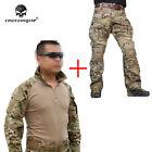 EMERSON G3 Combat Uniform Set Shirt & Pants Military Airsoft MultiCam Clothing