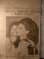 Maria Callas Y Renata Tibaldi. 1968!!!
