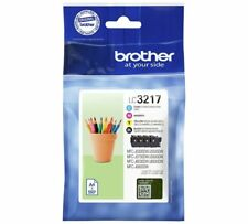 Brother LC3217 Multi 4 Colour Genuine Ink Cartridge LC-3217 Pack For MFC-J5335DW