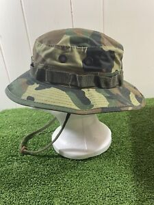 Sun Protection Bucket Hat Camouflage  size 71/4