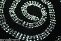 Belt Belly Chain Rhinestone Crystal 3 Line Body Jewelry Belly Dance Pageant Prom