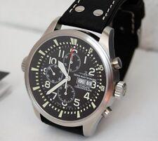 Zeno Watch Fellow 48mm Chronograph Automatik Garanti 10/19 Tag Datum 6239TVDD-a1