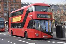 LT40 LTZ 1040 METROLINE NEW ROUTEMASTER 30TH DEC 2017 6x4 London Bus Photo B