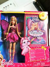 Barbie Mariposa DVD and Doll Gift Set New in box NRFB Hard to find
